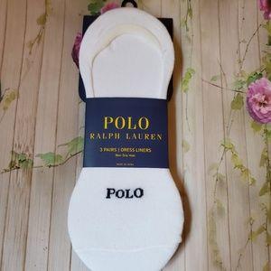 nwt polo Ralph lauren shoe socks liners